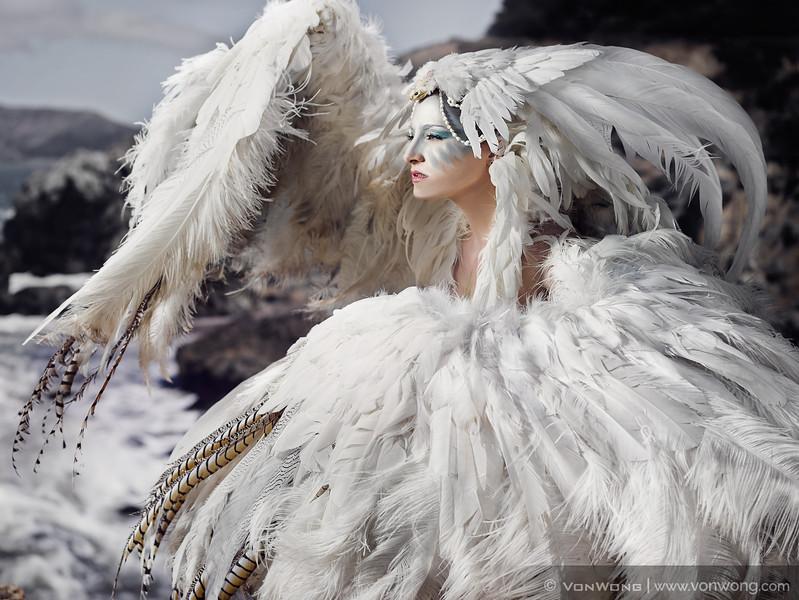 White-bird-woman-von-wong