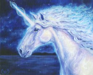 Unicorn Painting by Ka Amorastreya