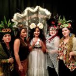 These ladies SLAYED with such beauty and grace! Thanks for attending my workshop!  Next up: Miami in March with @mokshafamilyartscollective, and NY in April @chapelofsacredmirrors, Gonna try and squeeze Miami and SoCal in there too.   #headdress #headpiece #workshop #costuming #diy #costume #cosplay #artist #riverartsdistrict #ashevilleartist
