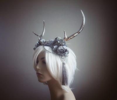 silver-stag-headdress-2